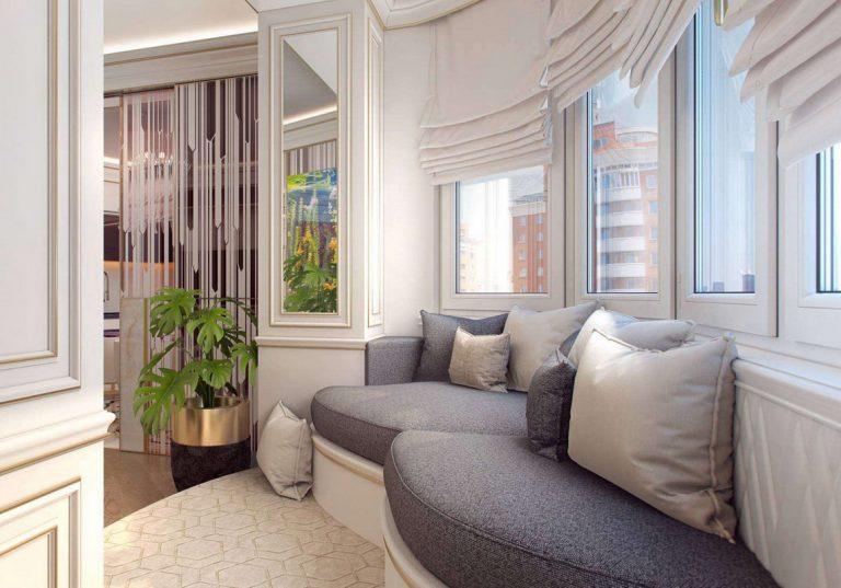 Остекление двухкомнатной квартиры - монтаж